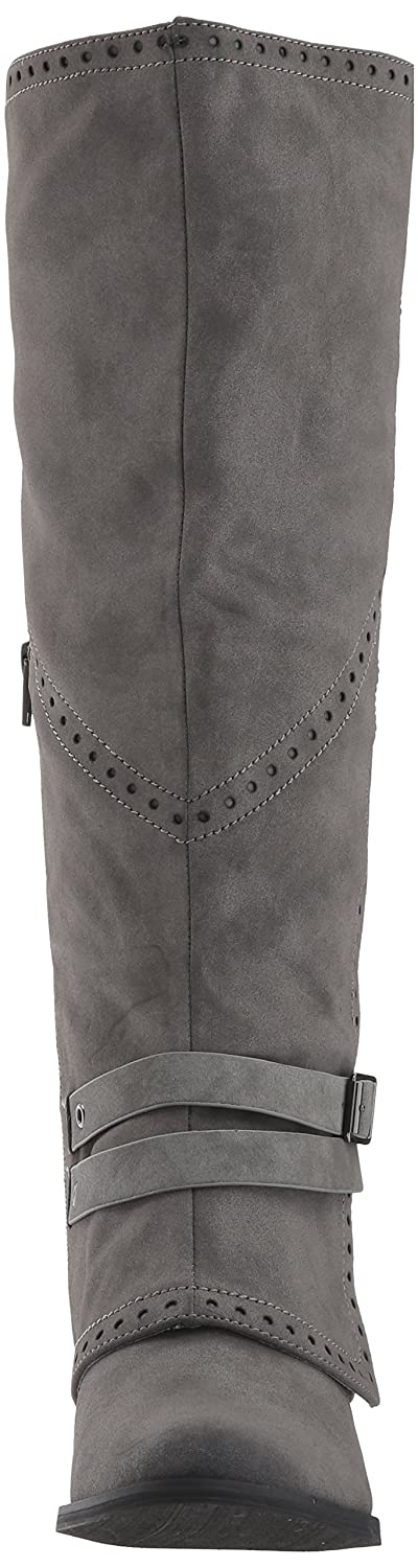 Not Rated Women's Yoko Riding Boot B06Y4G9XRW 7 B(M) US|Charcoal