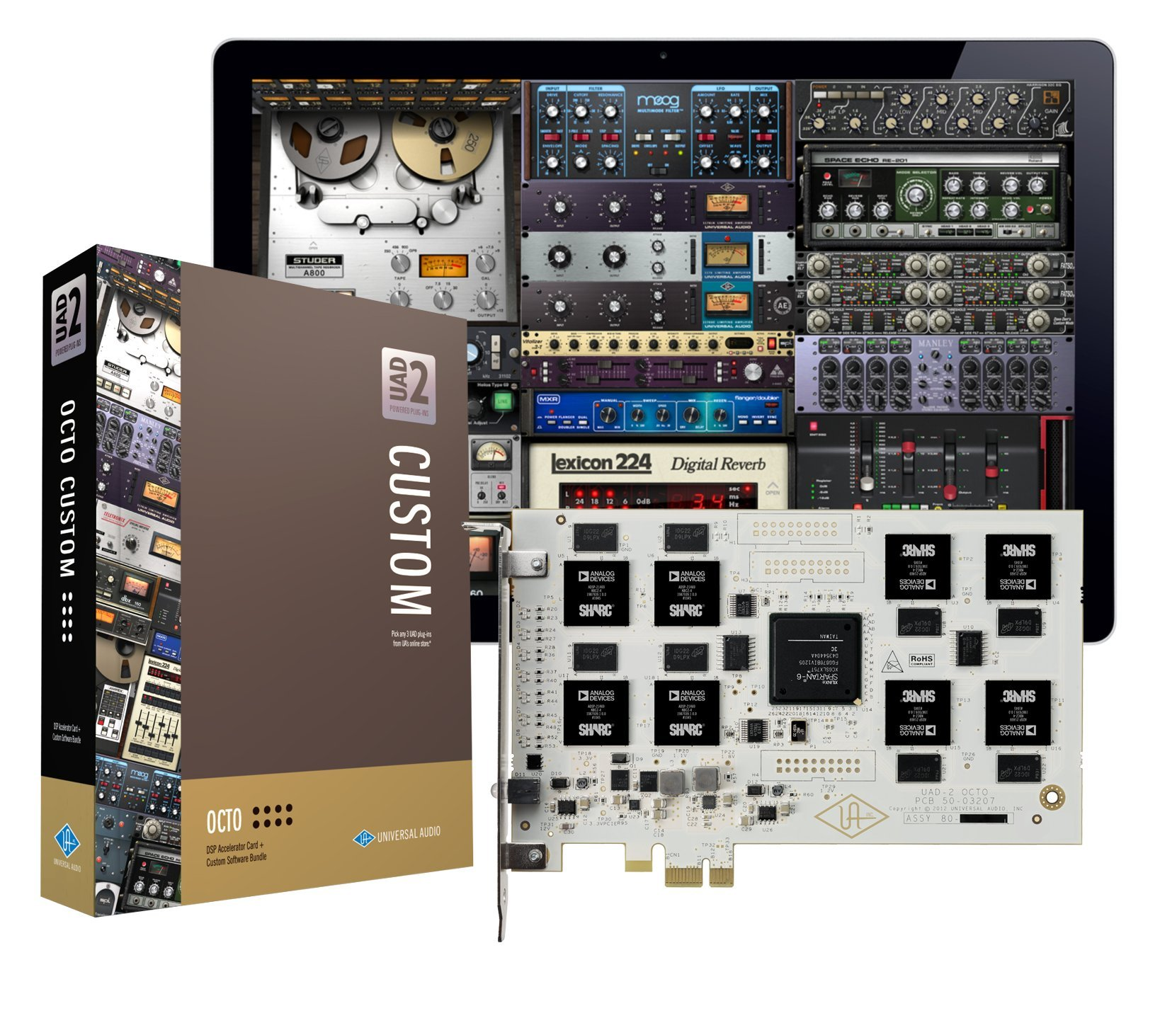 Universal Audio UAD-2 OCTO Custom PCIe DSP Accelerator Package by Universal Audio