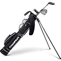 Champkey Lightweight Golf Stand Bag - Easy to Carry & Durable Pitch Golf Bag – Golf Sunday Bag Ideal for Golf Course…