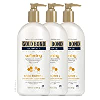 Gold Bond Ultimate Skin Therapy LotionWith Shea Butter, Softening, 42 Ounce, (Pack of 3)