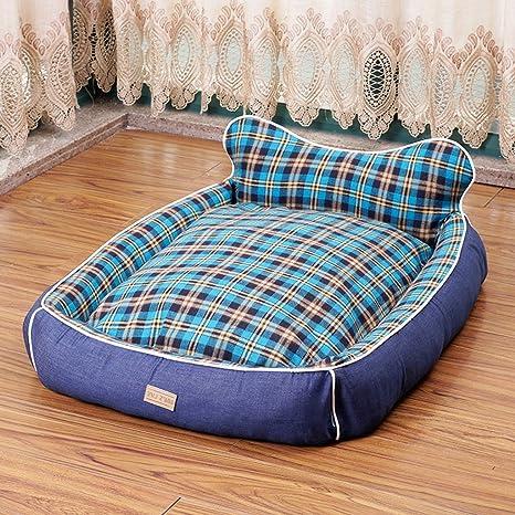 Cama Ortopédica Deluxe Chaise Couch Pet para gatos y perros - Disponible en 4 tamaños (