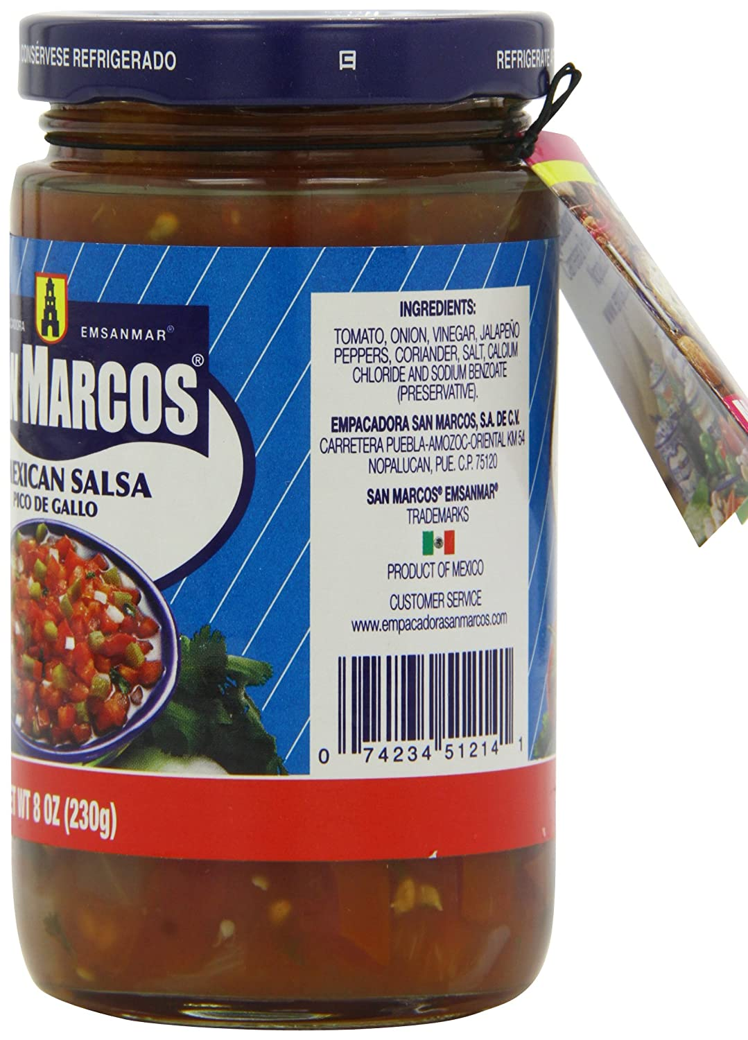San Marcos Mexican Salsa 230 g (Pack of 4): Amazon.co.uk: Grocery