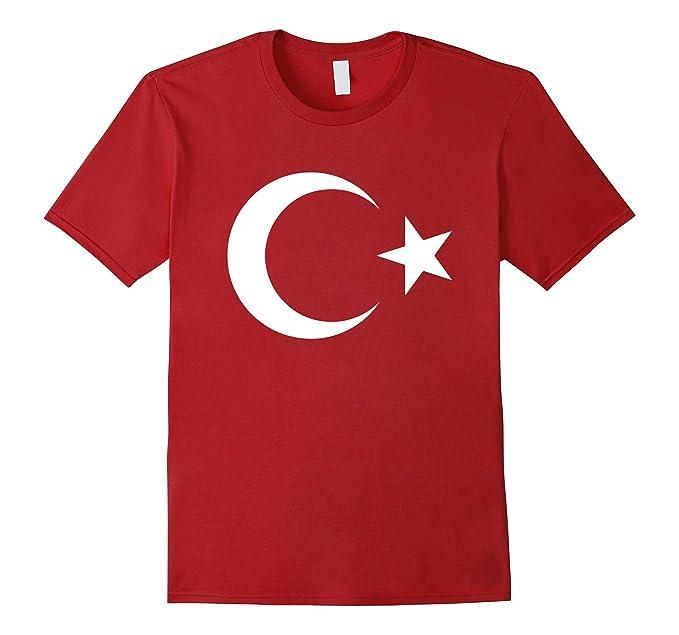 amazon com turkish turkey flag crescent moon and star shirt clothing