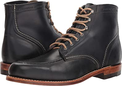 7ff8bca29d4 Wolverine Men's 1000 Mile 1940 Boot Black Leather 14 M US Medium ...