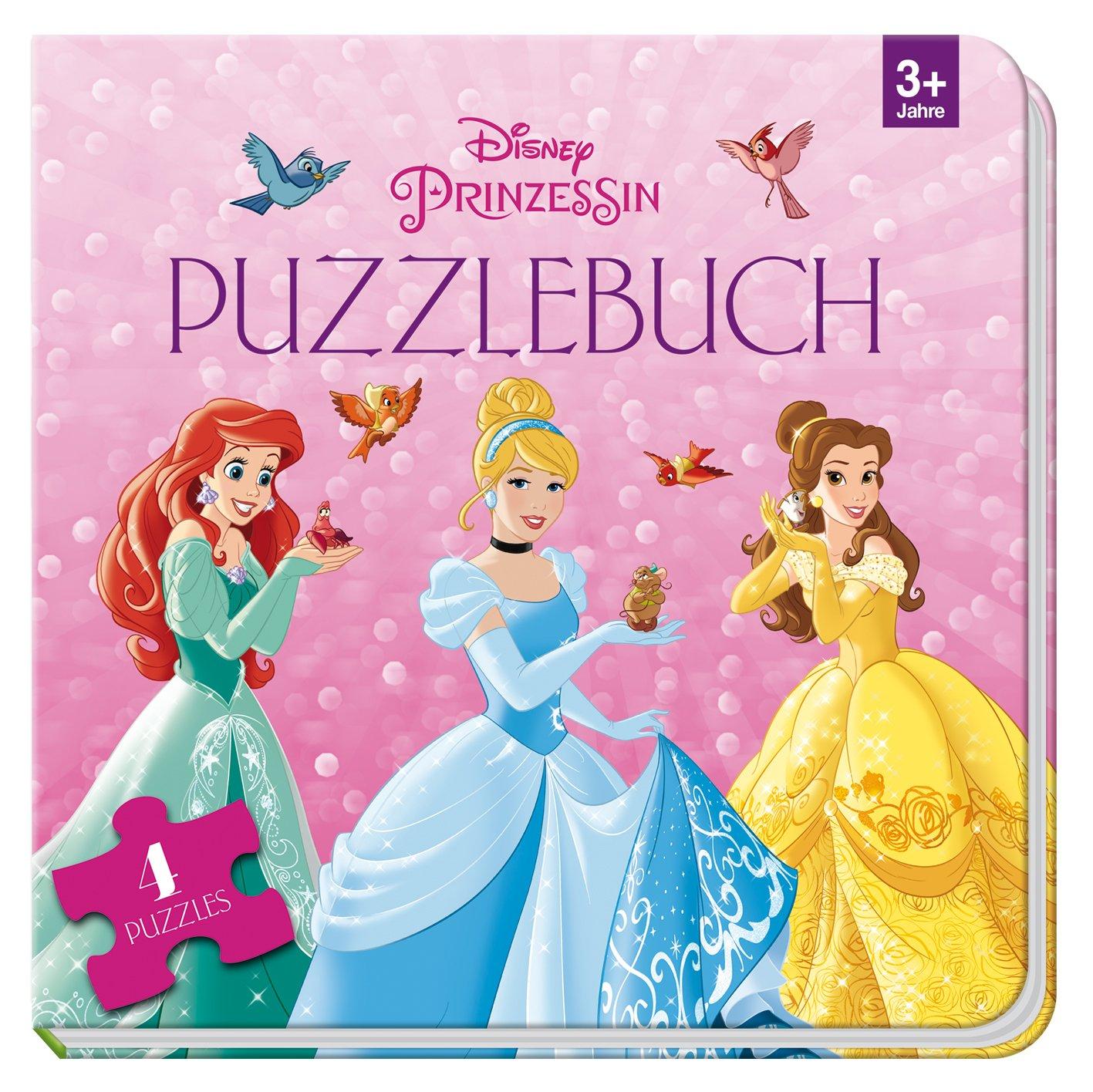 Puzzlebuch Disney Prinzessin