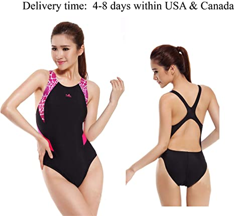 fbbeb33b22738 Image Unavailable. Image not available for. Color: YingFa One Piece  Training Swimsuit ...