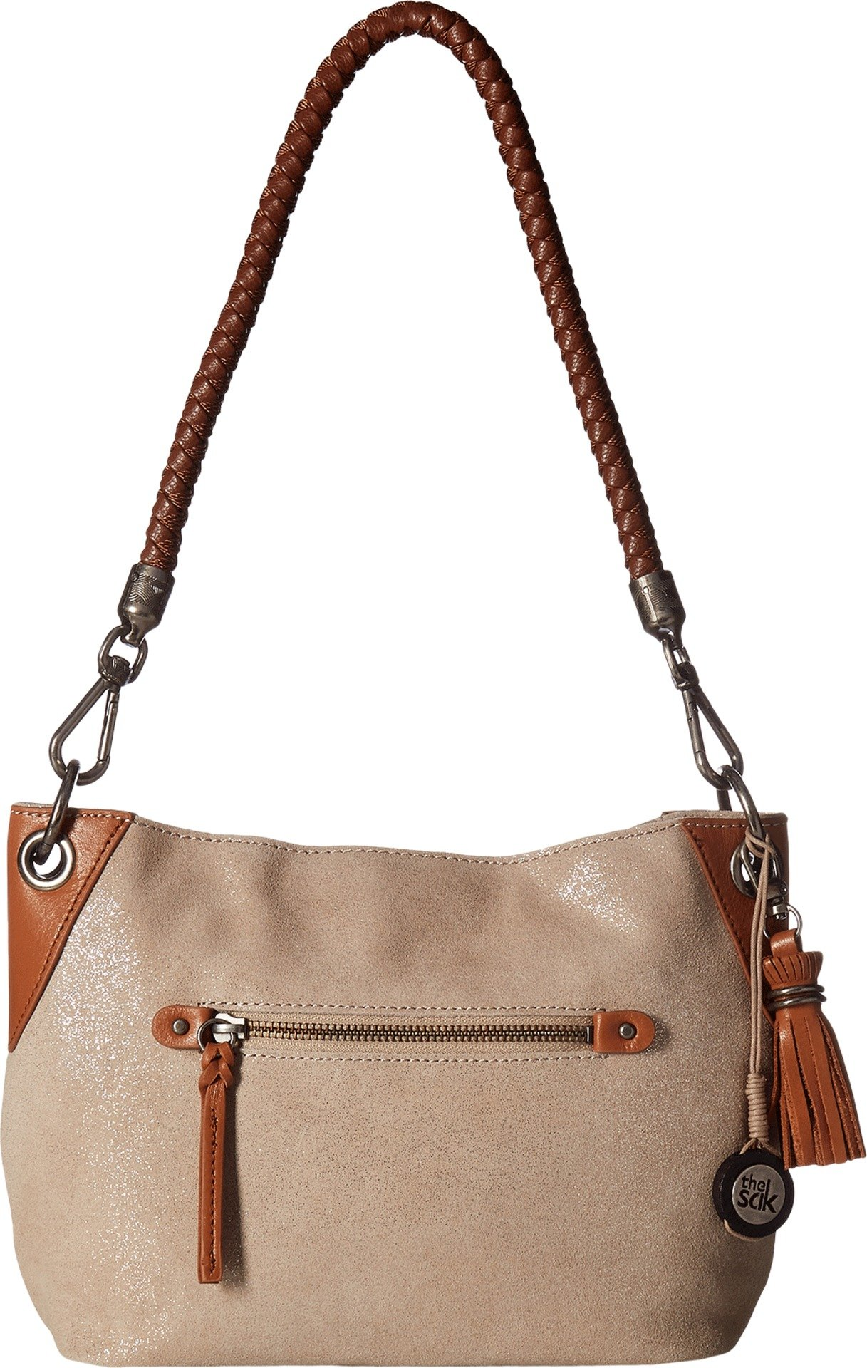 The Sak Women's Indio Leather Demi Nude Sparkle Handbag