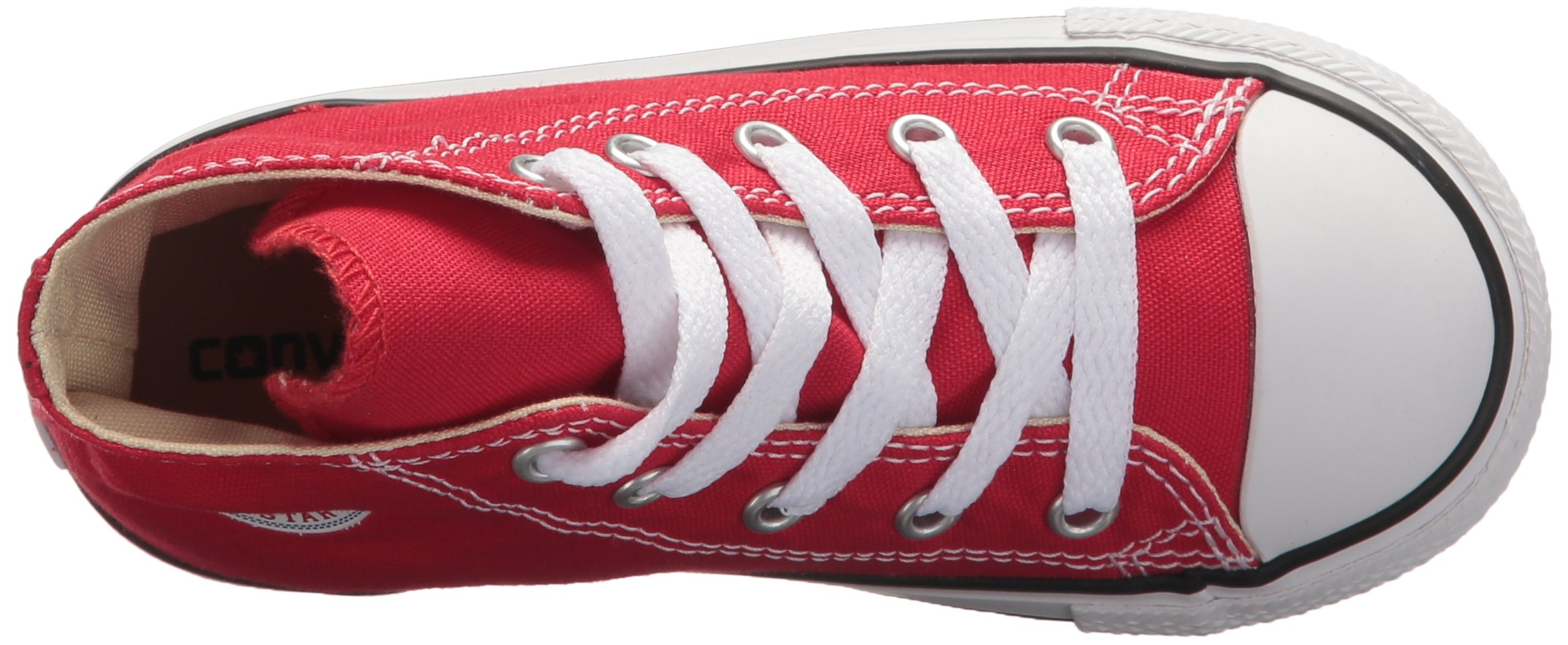 Converse Kids Chuck Taylor Classic Hi Red Sneaker - 10.5 by Converse (Image #12)