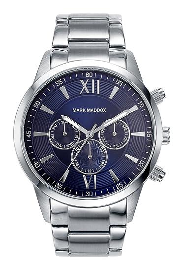 8dc69b4923b8 Reloj Mark Maddox - Hombre HM6002-33  Amazon.es  Relojes