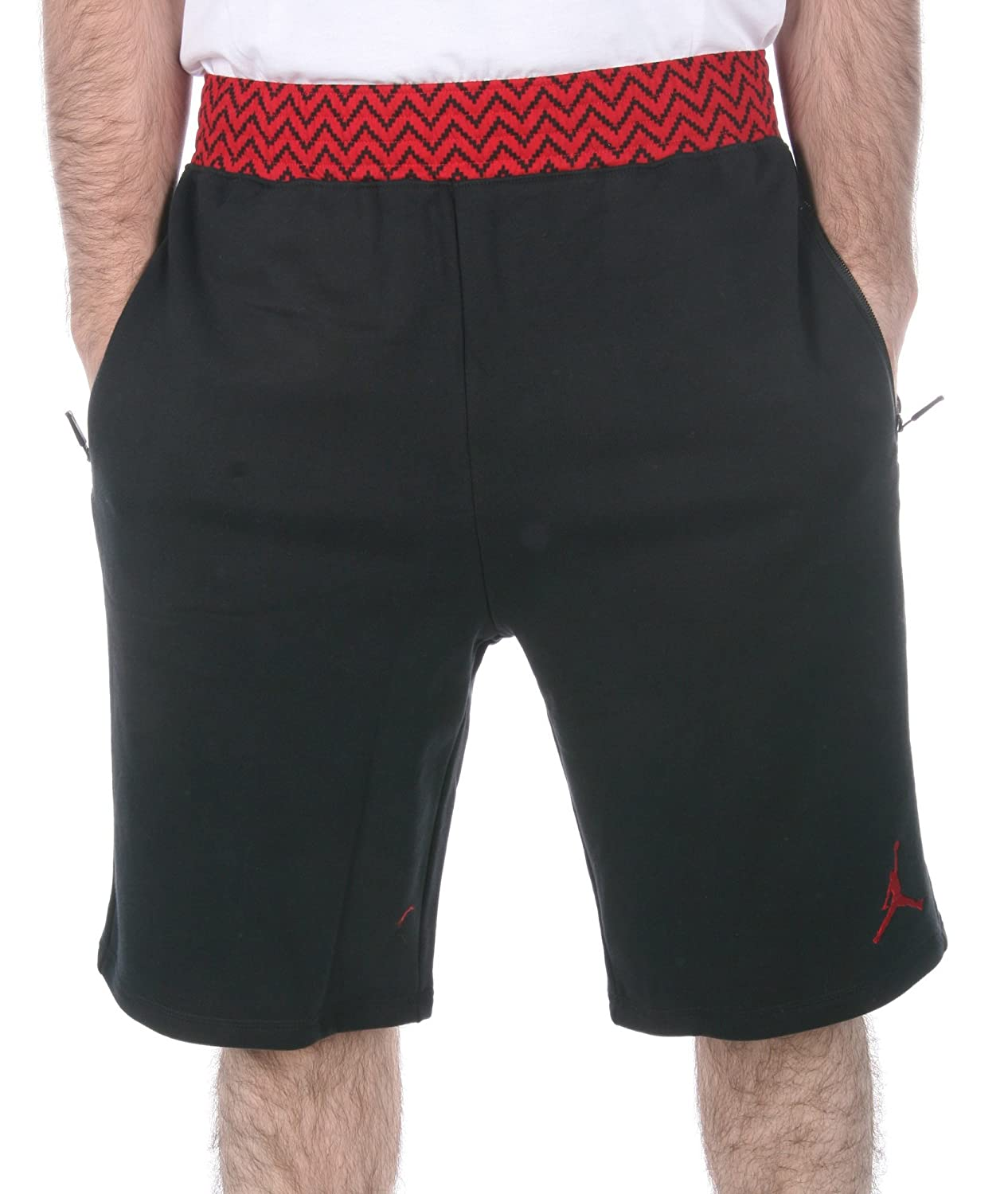 dac950e71f3aef NIKE Jordan Men s AJ Retro 12 XII Jumpman Shorts-Navy at Amazon Men s  Clothing store