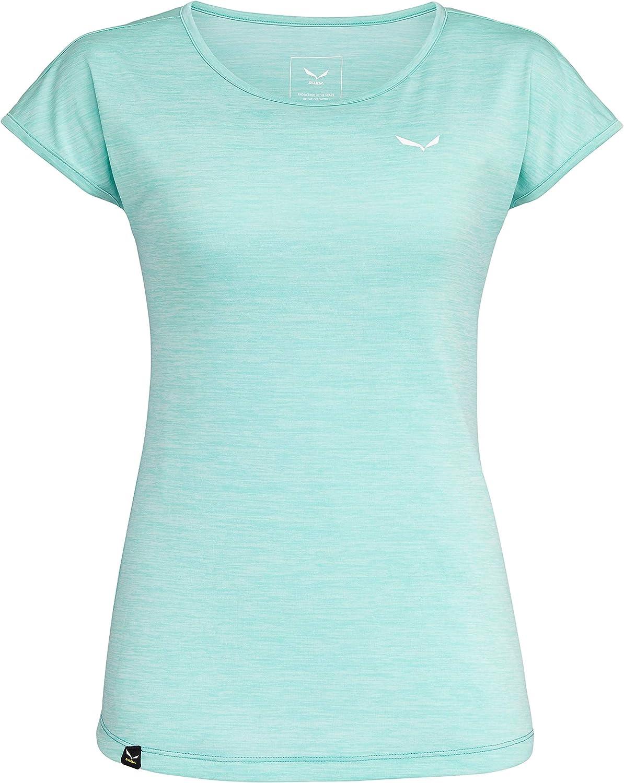 Maglietta Donna SALEWA Puez Melange Dry T-Shirt