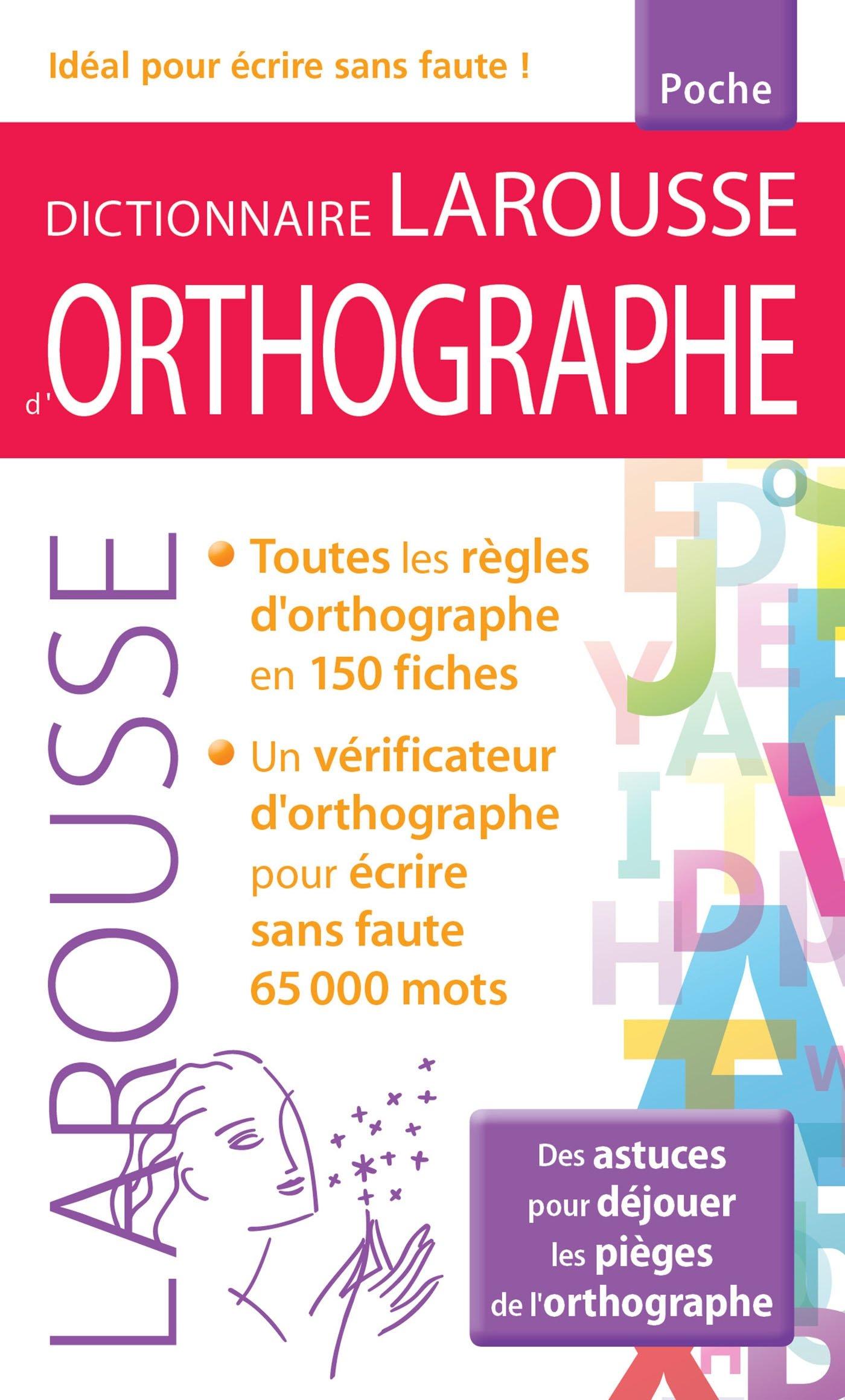 Amazon.fr - Dictionnaire larousse d\'Orthographe poche ...