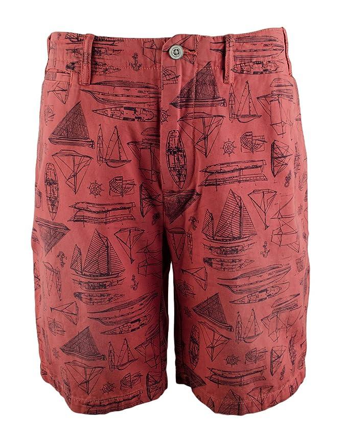 Big Classic And Ralph Lauren Fit Polo Maritime Print Canvas Short Tall Men's jzqVLUMGSp