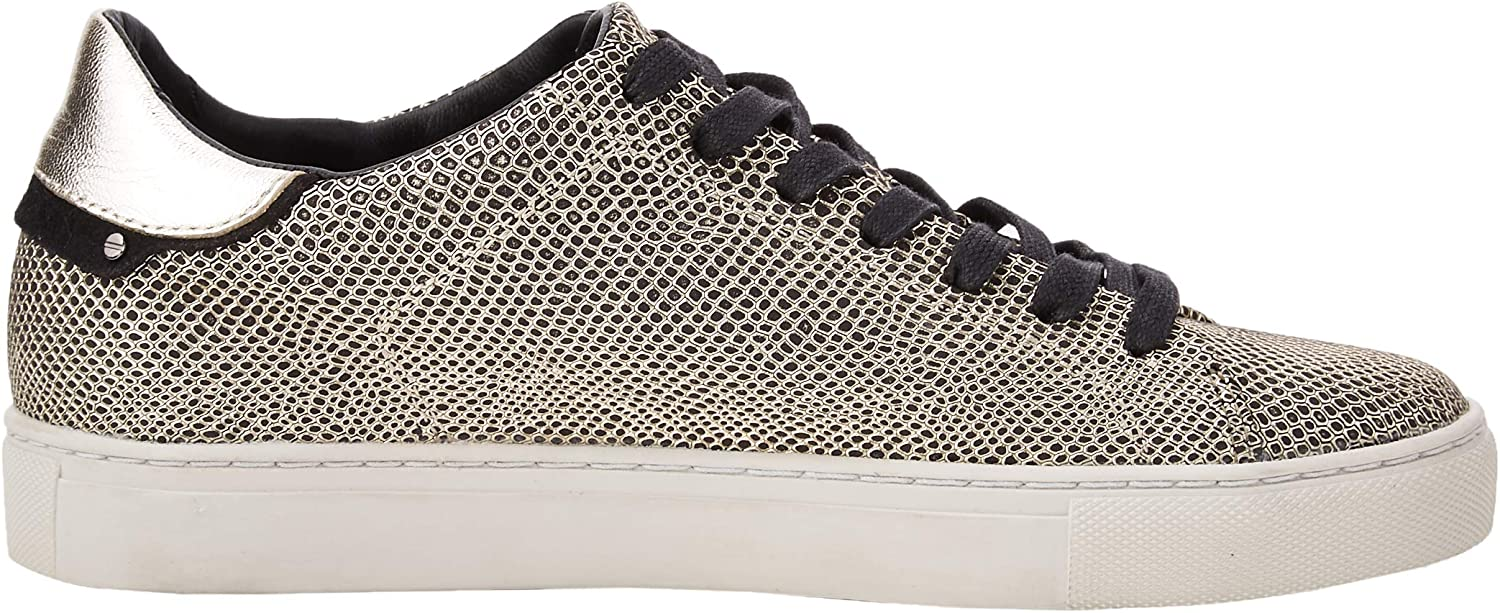 Crime London Women's Low-top Sneakers Gold (Gold 51)