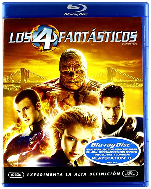 Pack Los 4 Fantasticos 1 + 2 [Blu-ray]: Amazon.es: Julian Mcmahon ...