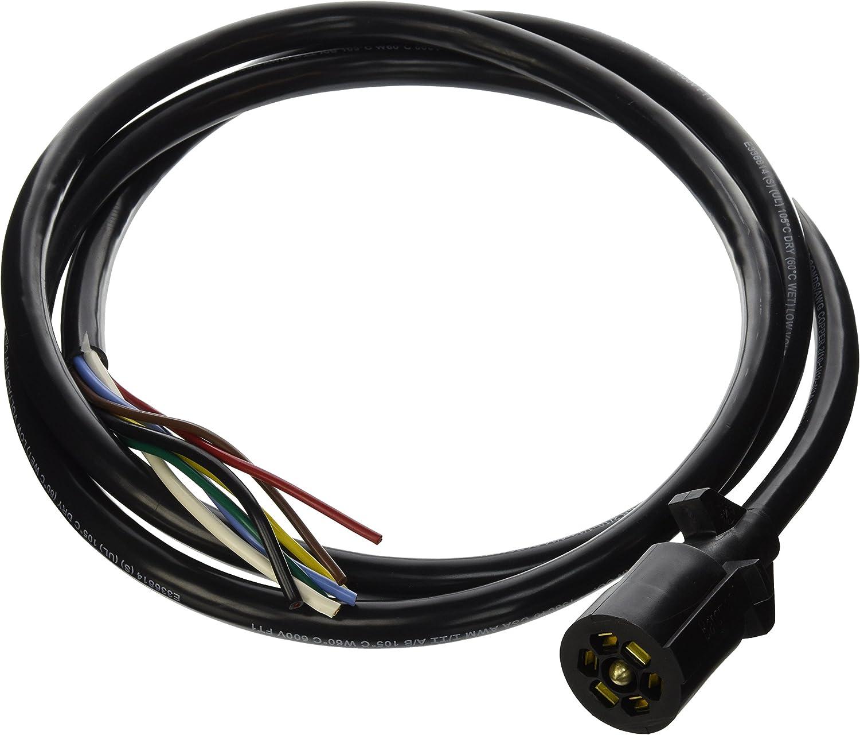 bargman rv plug wiring amazon com bargman 50 67 618 7 way trailer connector automotive  67 618 7 way trailer connector