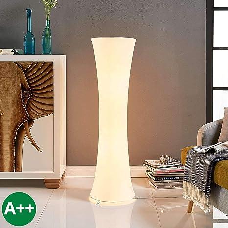 Lámpara de pie Liana (Moderno) en Blanco hecho de Textura ...