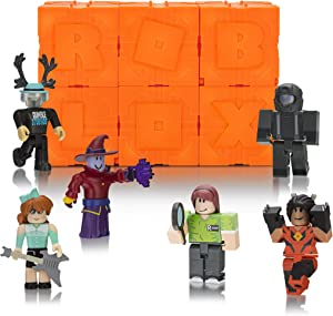 Roblox Action Collection - Series 6 Mystery Figure 6-Pack [Includes 6 Exclusive Virtual Items]