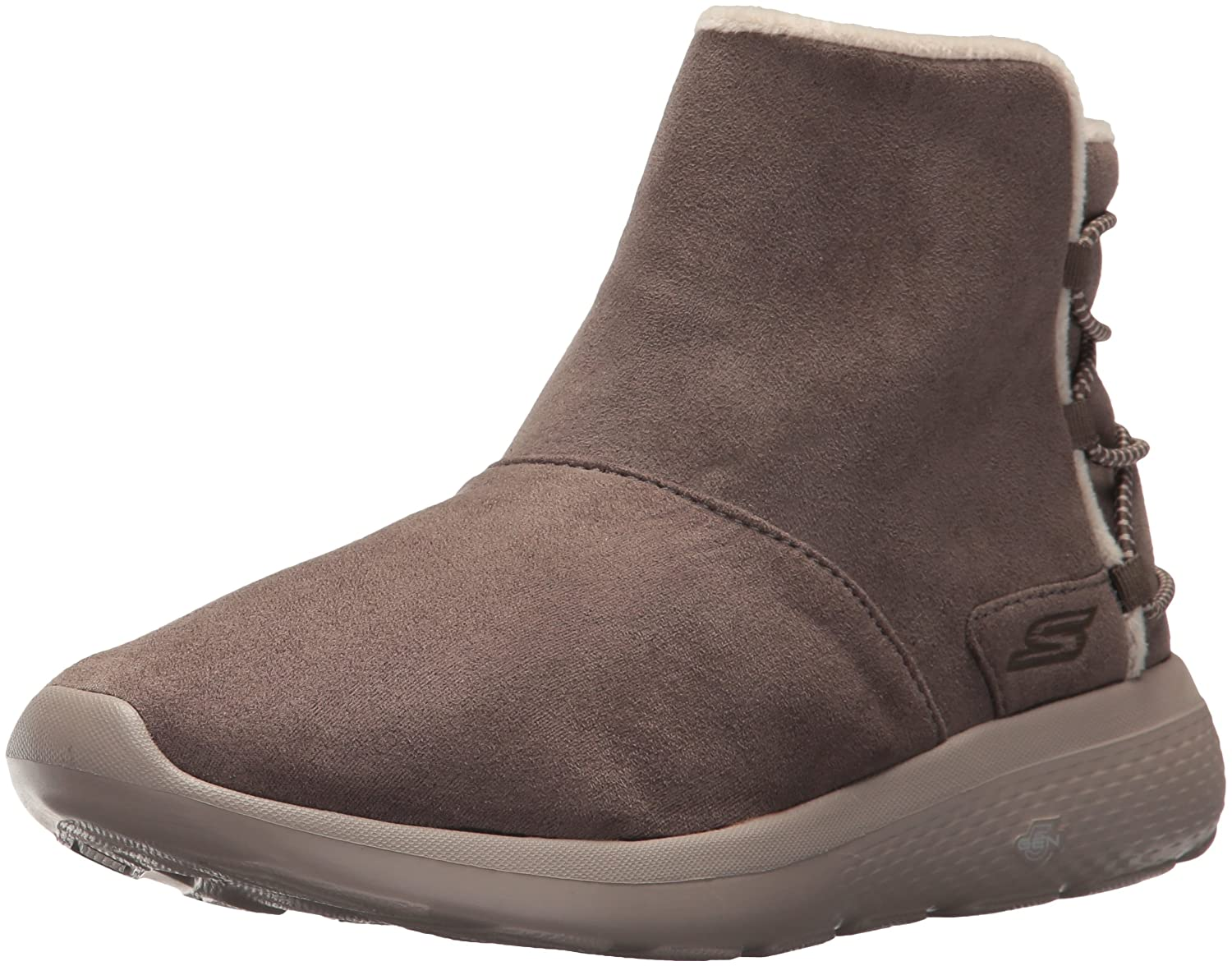 Skechers Damen Stiefeletten On-the-Go City 2 ADAPT Grau/Oliv  395 EU