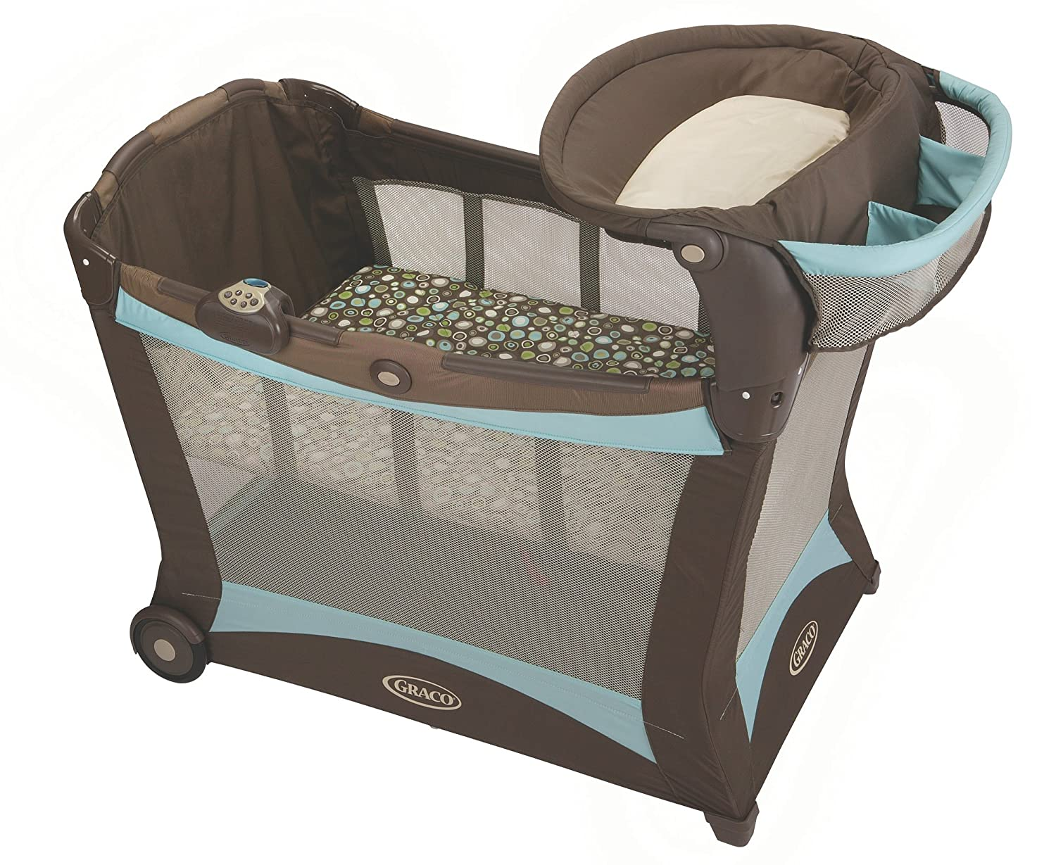 e8a7a801c Pack n Play Modern Playard with Toy Gym - Shout: Amazon.ca: Baby