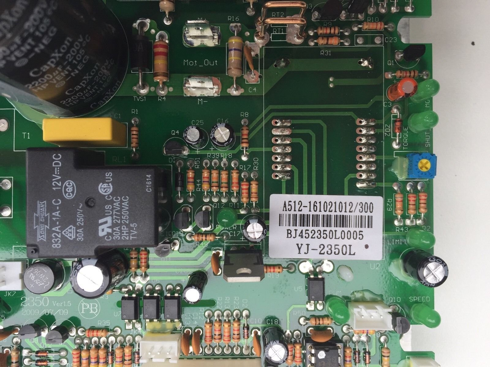 Sole Fitness TT8 Treadmill Lower Controller Control Board LpCA MCB D020055 CT800 by SOLE (Image #2)