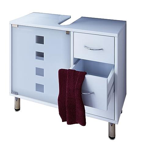 VCM Waschtischunterschrank Bad Möbel Unterschrank Schubladen ... | {Möbel bad 57}