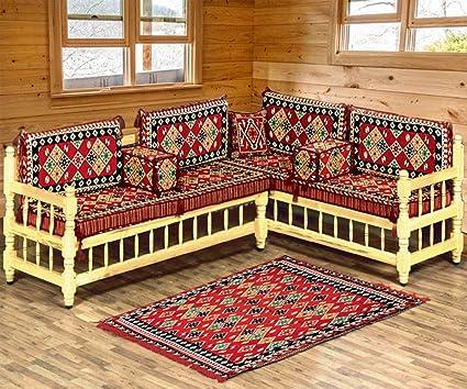 Spirit Home Interiors - Árabe majlis de Asiento Grupo ...