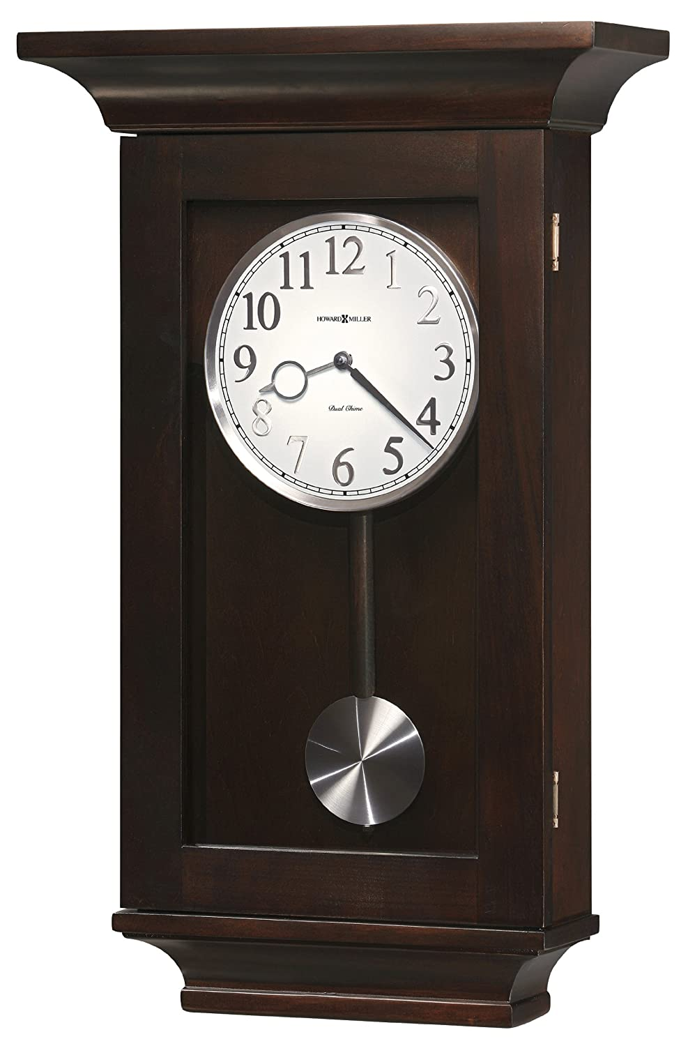 Amazon howard miller 625 379 gerrit wall clock home kitchen amipublicfo Image collections
