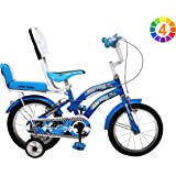 Yono Bikes 14 Inches Heavy Steel Bicycle for Kids 2.5 to 4.5 Age Group (Assembly Needed by Customer, Instruction Manual & Tool Kit Provided)