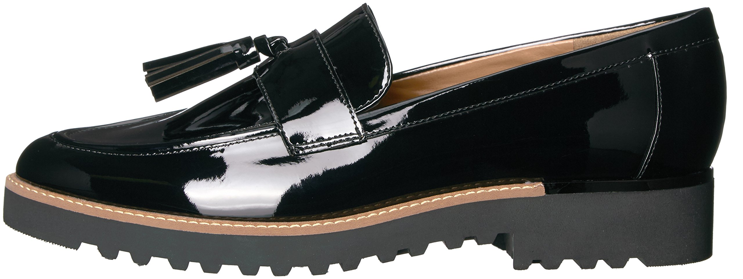 Franco Sarto Women's Carolynn Loafer Flat, Black, 9 M US by Franco Sarto (Image #5)