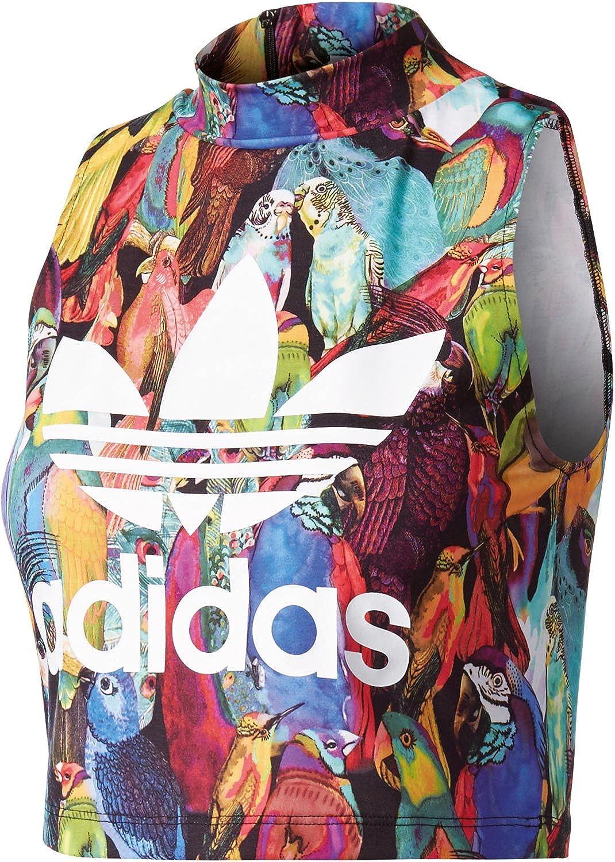 adidas Passaredo W Tanktop multicolor: : Bekleidung