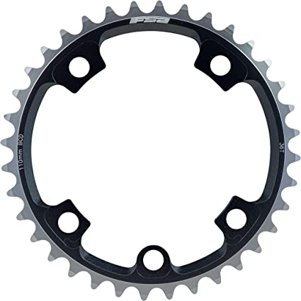 2x10 Speed  BCD 110mm Black SRAM Road Chainring 36T V3