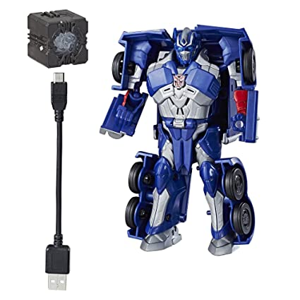 Amazon Com Transformers Allspark Tech Starter Pack Optimus Prime