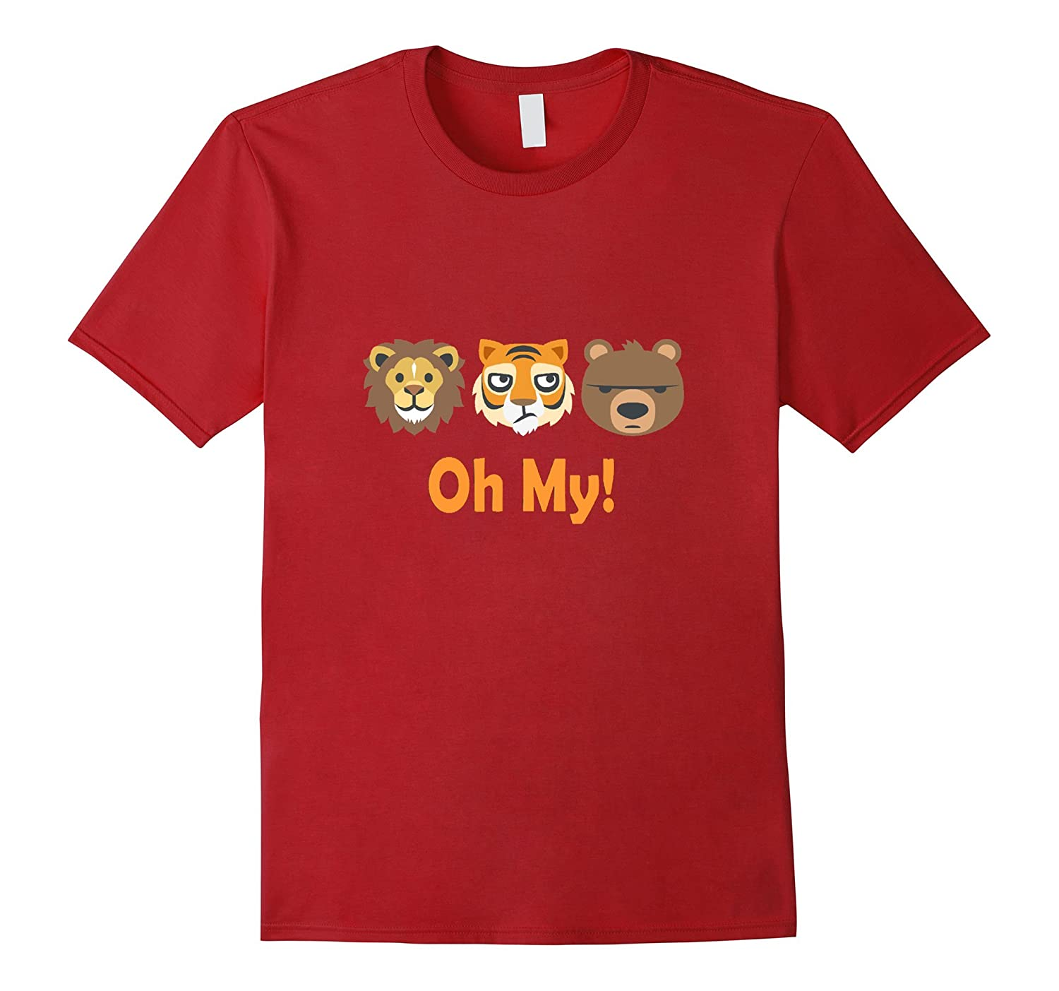 Lion Tiger and Bear t-shirt Oh My-ANZ