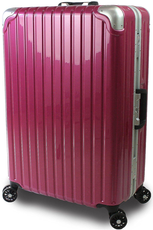 スーツケース 中型 Mサイズ TSAロック 搭載 超軽量安心フレームモデル ジェノバPC2020 Mサイズ 中型 67cm 3泊~7泊用 プレミアムピンク B07DBH3YXP