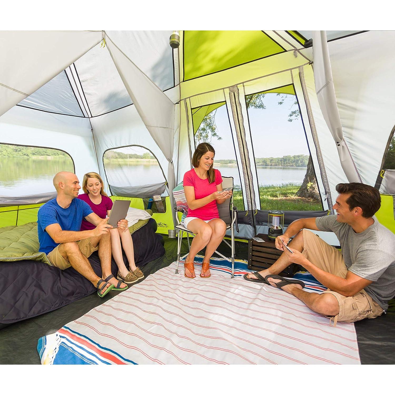 CORE 12 Person Instant Cabin Tent capacity