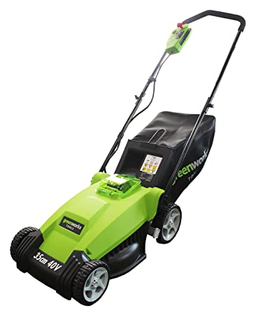 Greenworks Tools 25000067 A ion-litio batería recargable inalámbrica para cortacésped