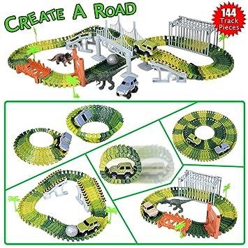 Park Traces Jurassic Circuit Kidshobby De Dinosaures Jouet eH2E9IWDY
