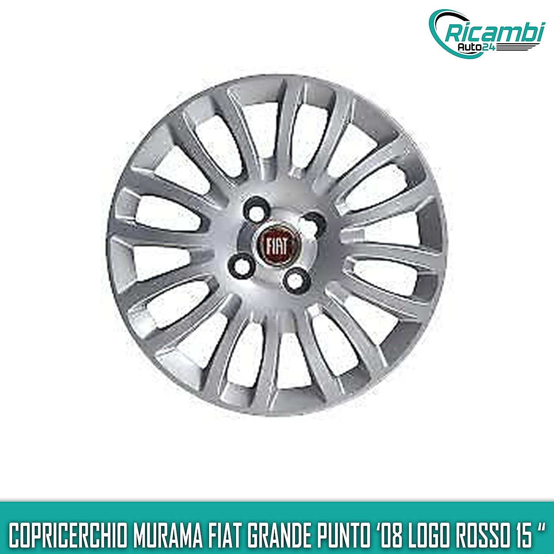 1216 Murama Fiat Grande Punto 2008 Restyling Copricerchio Coppa Ruota 15 cod