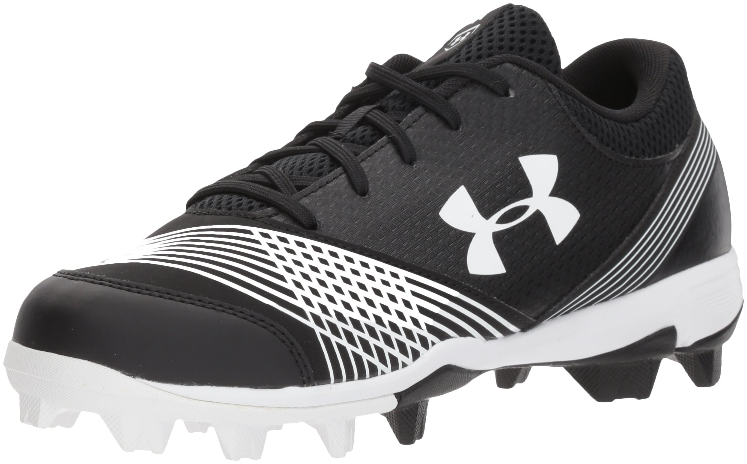 Under Armour Women's Glyde RM Softball Shoe, (011)/Black, 5.5 by Under Armour