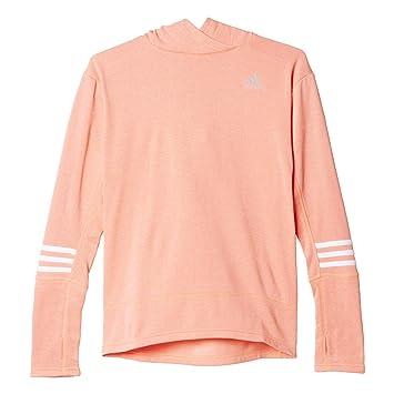 adidas RS Icon Hood W - Sudadera para mujer, color naranja/blanco, talla 2XS: Amazon.es: Deportes y aire libre