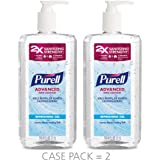PURELL Advanced Hand Sanitizer Refreshing Gel, Clean Scent, 1 Liter Pump Bottle (Pack of 2) - 3080-02-EC