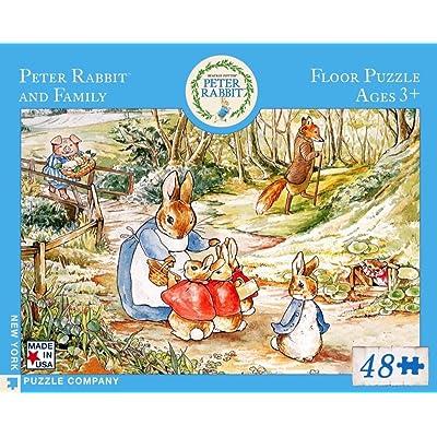 New York Puzzle Company - Beatrix Potter Peter Rabbit & Family - 48 Piece Jigsaw Puzzle: Toys & Games [5Bkhe1103142]