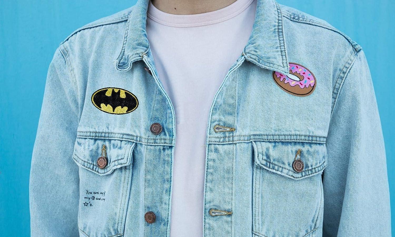 parche de Batman bordado, para planchar o coser, para disfraz, camiseta, bolso: Amazon.es: Hogar
