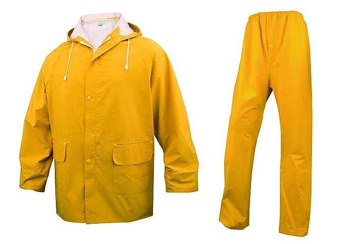 Delta Plus - Juego de chaqueta y pantalón impermeables con ...