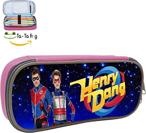 PINGPING88 Henry Danger - Estuche Organizador para lápices, Color Azul: Amazon.es: Hogar
