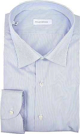 Philo Vance El Hombre de Camisa Celeste a Rayas Blanco Collar ...