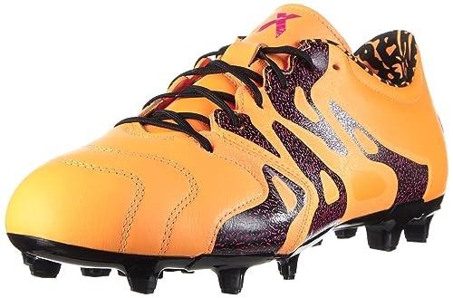 Scarpe Adidas X Uomo 15 Gold Calcio Da 2 solar Fgag Leather Arancione wXZfx7Xqr