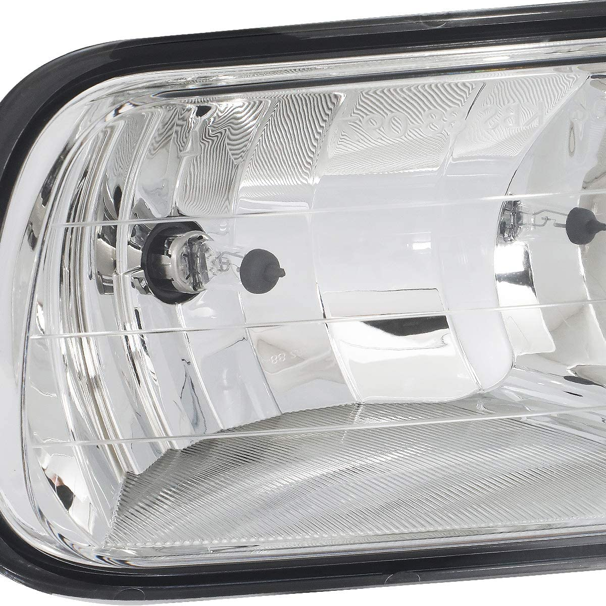 -Chrome 100W Halogen Passenger side WITH install kit 2012 Kenworth CONVENTIONAL Side Roof mount spotlight 6 inch