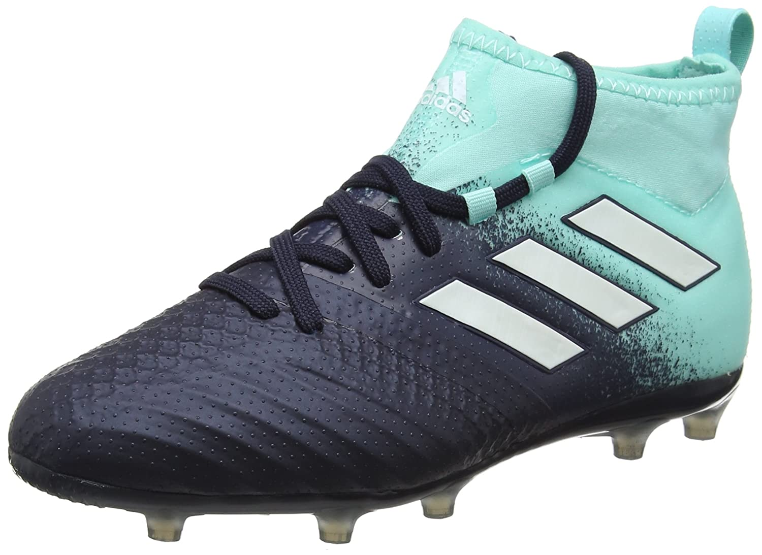 Adidas Ace 17.1 FG, Chaussures Football de Football Chaussures Mixte Enfant 36 2/3 EU|Bleu (Energy Aqua/Legend Ink/Mystery Ink) db4851